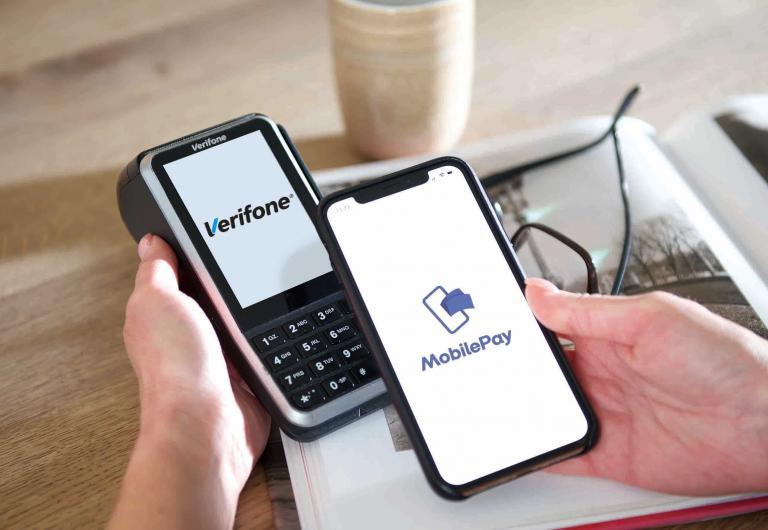 Med en integration til Verifones betalingsterminaler kommer information direkte fra Cashpad til terminalen.